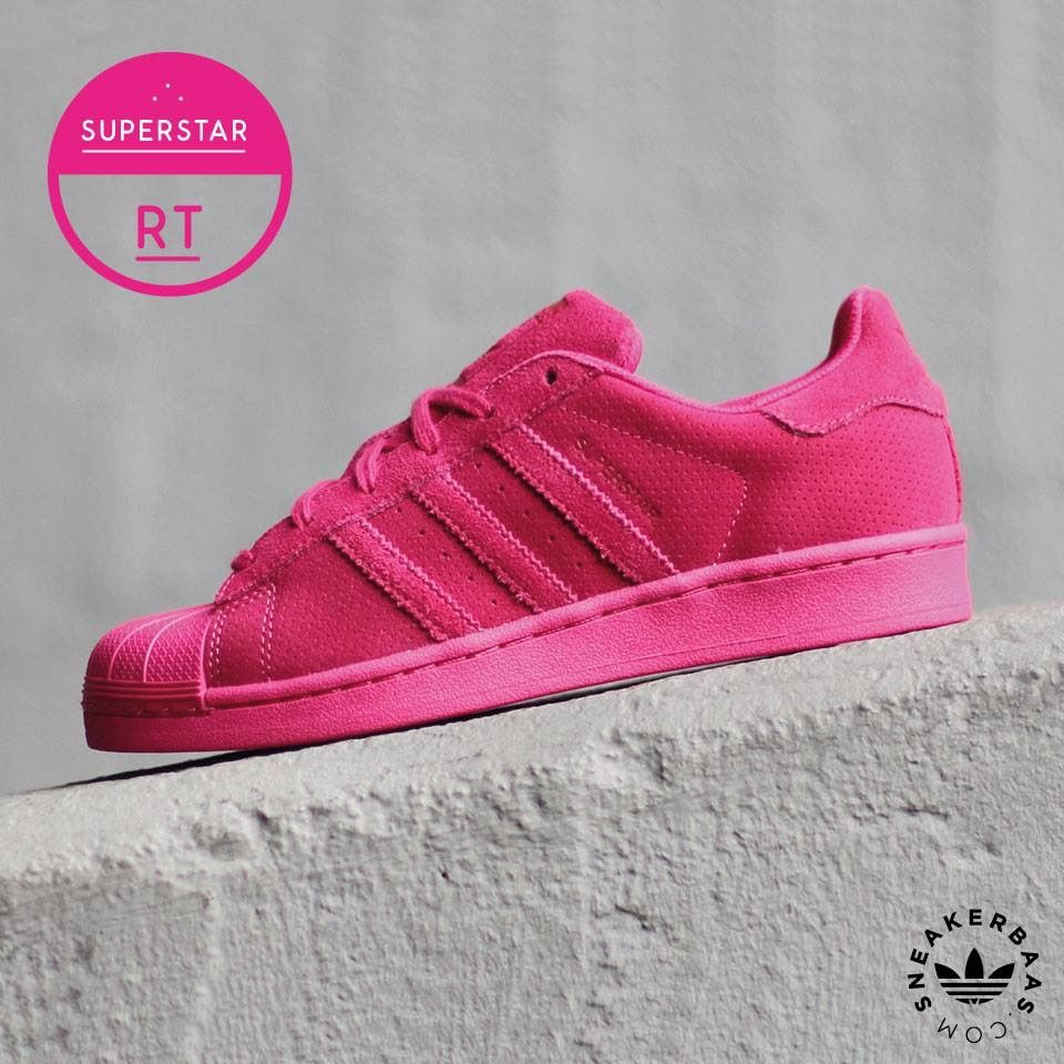 adidas superstar neon