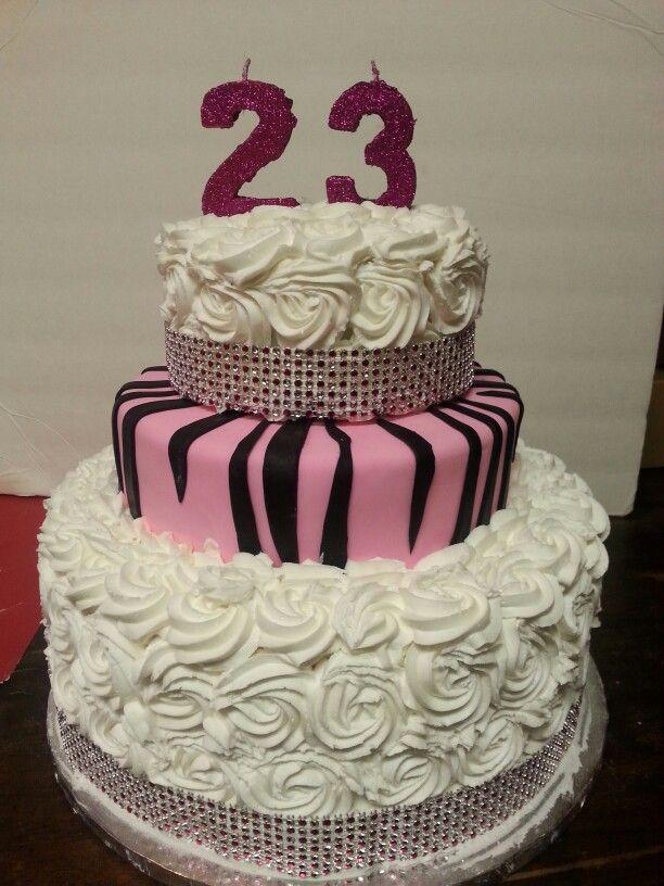 23rd Birthday Cake 23 Birthday Cake Birthday Cake Cake