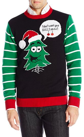 Image result for inappropriate christmas sweater