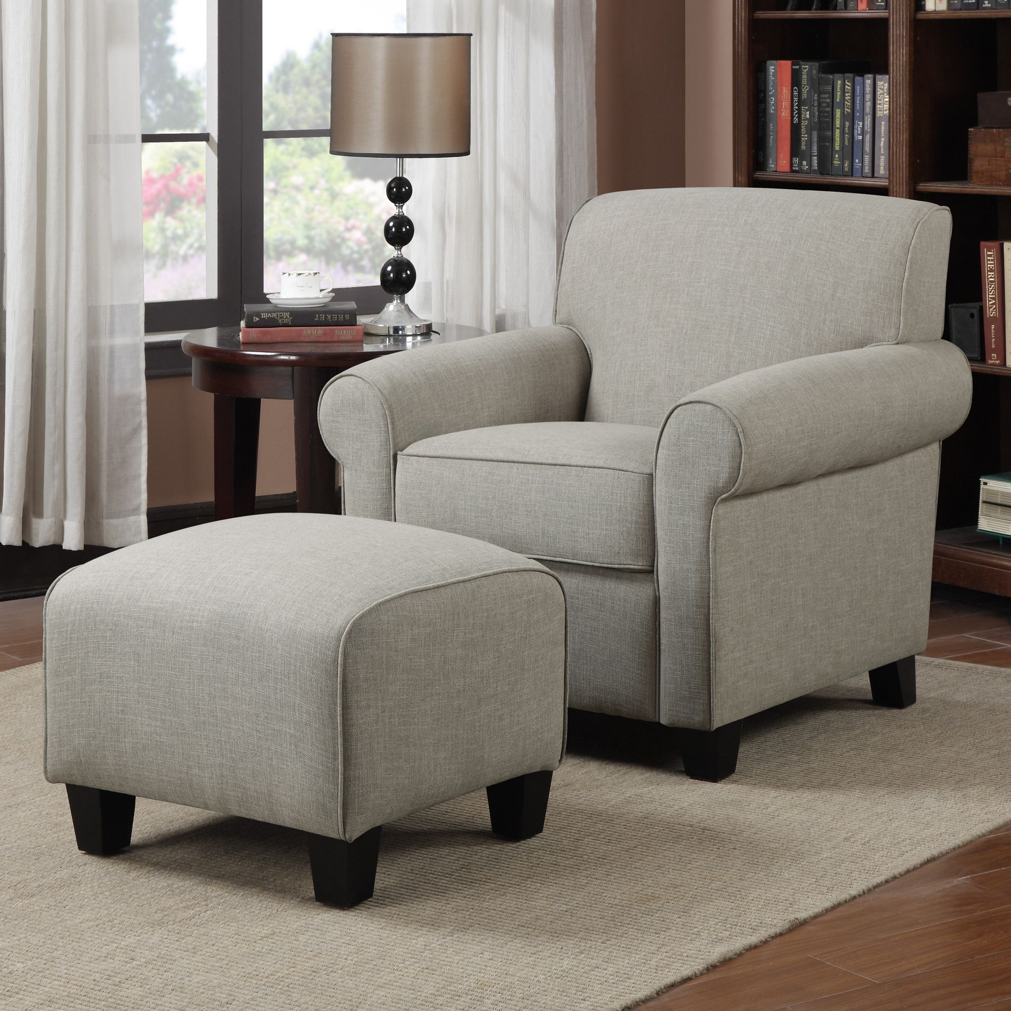 Handy Living Chair & Ottoman & Reviews Wayfair