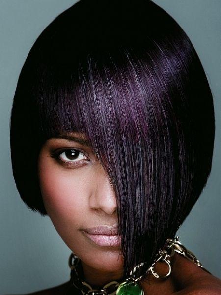 Hair Color Purple Black Photo 5