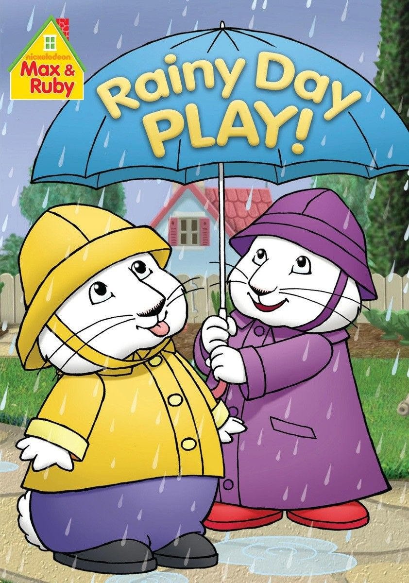 Max & Ruby: Rainy Day Play - There are plenty of ways to play