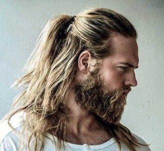 15 Mens Bun & Ponytail Hairstyles