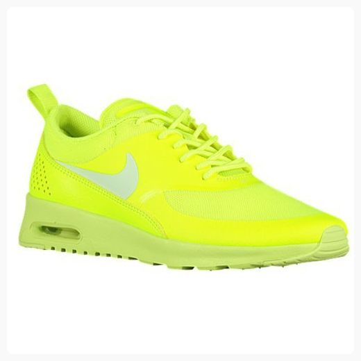 Nike Women's Air Max Thea Volt/Lt Liquid Lime Running Shoe 5 Women US (