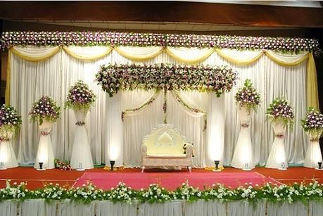 10 Awesome Indian Wedding Stage Decoration Ideas In 2019 Wedding