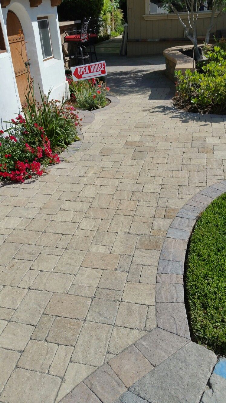 Pavers from belgard landscaping pavers pinterest for Landscaping bricks