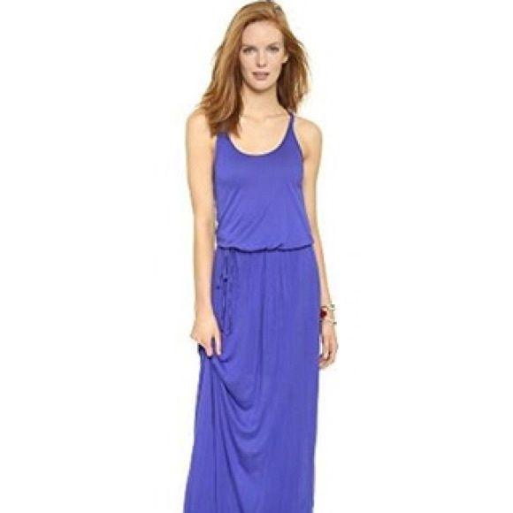 Selling this Splendid Cobalt Blue Maxi razor back dress in my Poshmark closet! My username is: dixielee30. #shopmycloset #poshmark #fashion #shopping #style #forsale #Splendid #Dresses & Skirts