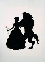 Image Result For Disney Princess Silhouette Free Printables Belle En Het Beest Disney Sprookjes