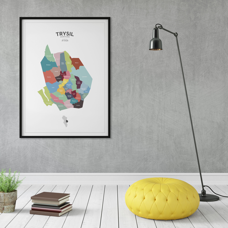 TRYSIL • #Trysil #poster #plakat #veggpynt #minimalistisk #simple ...