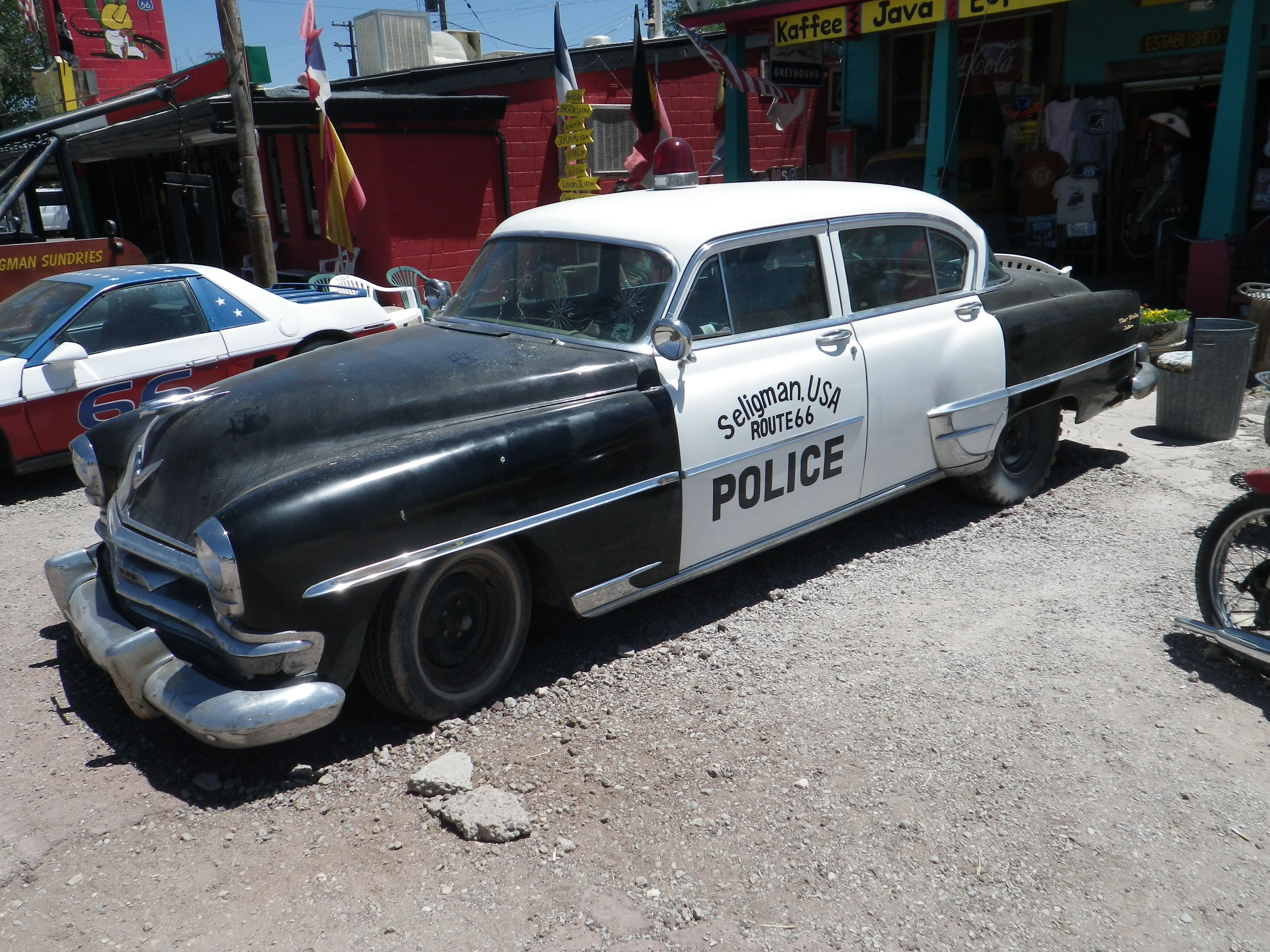 Chrysler New Yorker Sedan 1954 Route 66 2013 Cop Cars