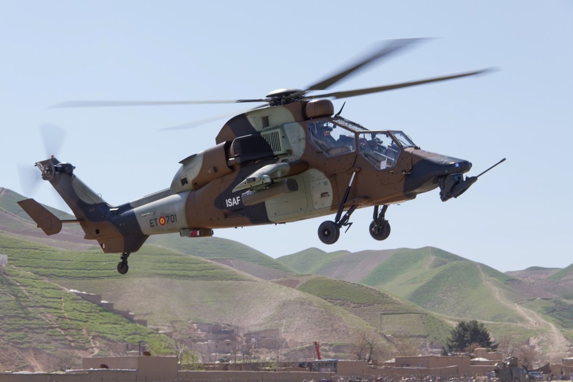 Spanish Eurocopter Tiger in Afghanistan [2.000px 1.334px]   copters ...