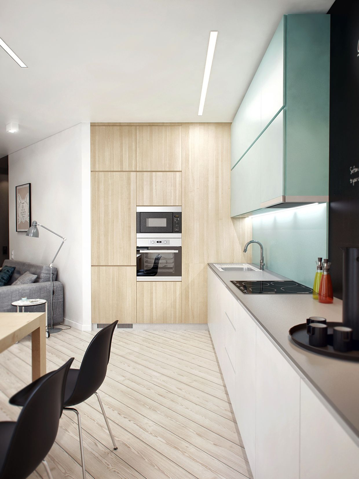 Four Apartments from St Petersburg s Int2 Architecture