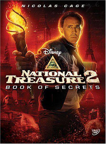 National Treasure Book Of Secrets 2007 National Treasure Movie The Secret Book National Treasure
