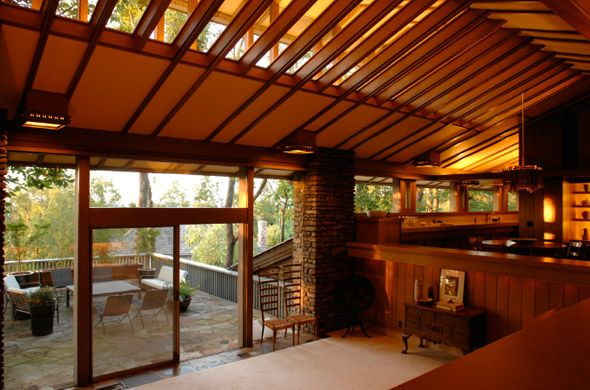 Fay Jones Buckley House Fayetteville Modern Home Tour House Architecture Architect