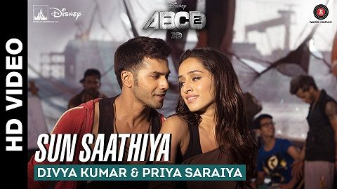 Sun Sathiya Full Hd New Song 2015 Film Abcd 2 Free Download Songs Bollywood Movie Songs Movie Songs