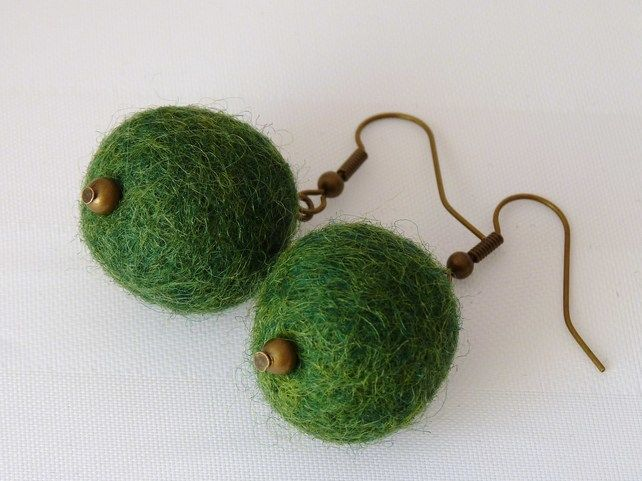 Felt Earrings