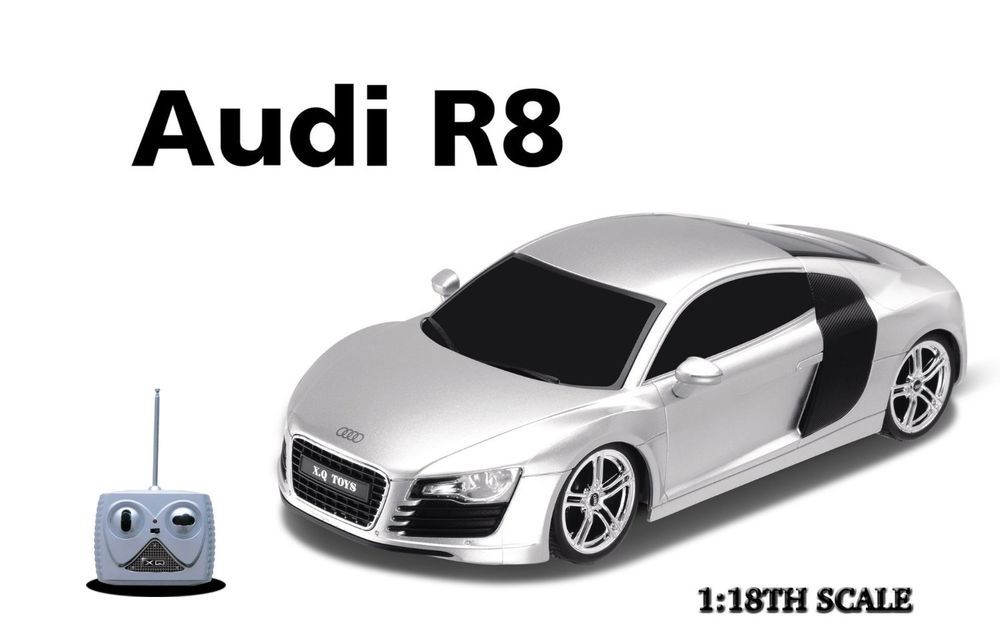 New Audi R Radio Remote Control Car RC Vehicle For Kids Fun - Audi remote control car