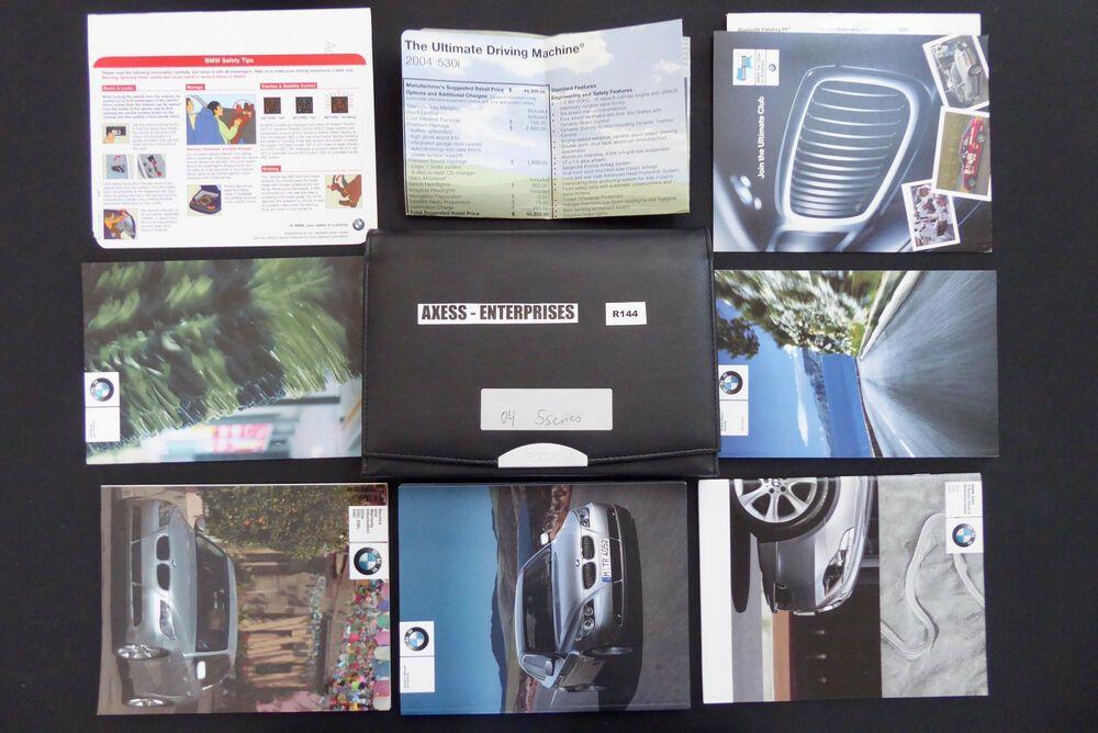 Ebay Sponsored 2004 Bmw E60 545 530 525 I 545i 530i 525i Owner Manuals Operator Books Pack R144 Owners Manuals Bmw E60 Bmw