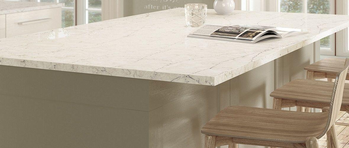 Silestone Eternal Pearl Jasmine Kitchen Worktops