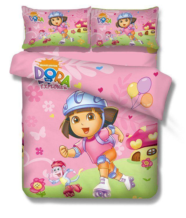 New Arrival Dora Explorer Bedding