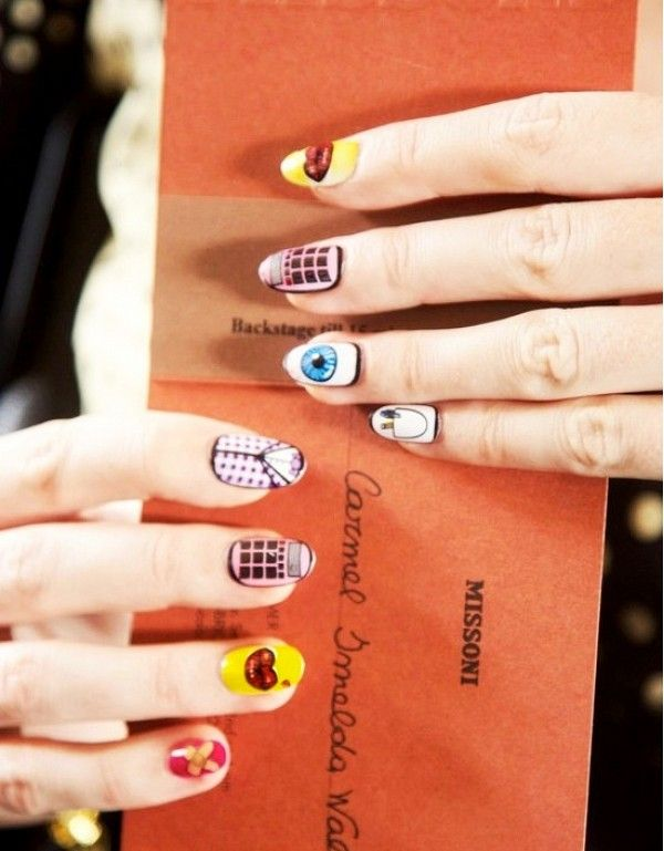 This Statement Nail Art Is On Our Radar For Summer