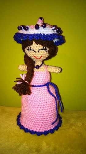 Magic Cupcake Doll Picture 2 Doll Fits Into A Crocheted Cupcake