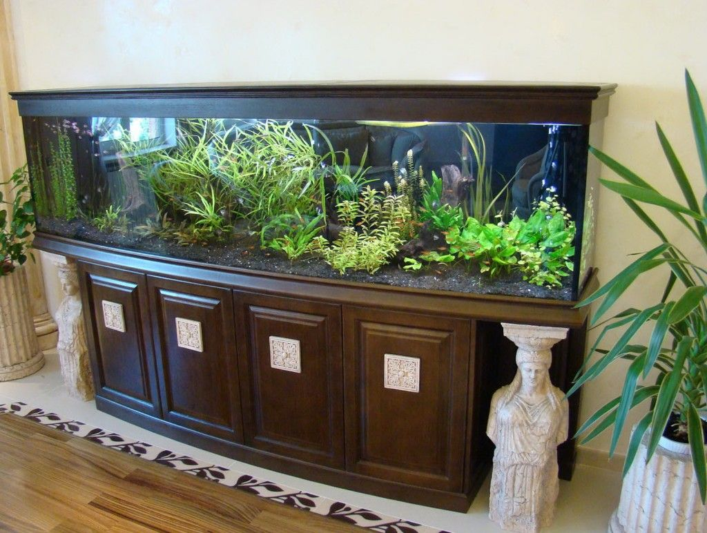 Fish tank wood - Always In Trend Gathered 15 Amazing Ideas To Help You In Decorating Your Rooms With Aquarium It Is A Great Way To Relax And To Enjoy In The View