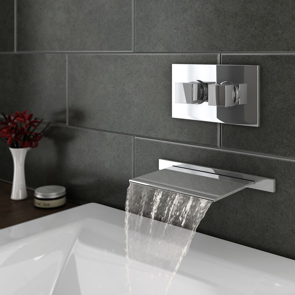 Best 25 Waterfall Bath Taps Ideas On Pinterest Mixer