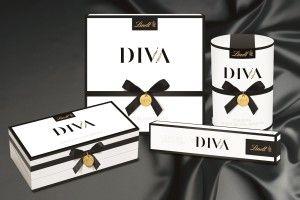 Die neue DIVA Kollektionn von Lindt.