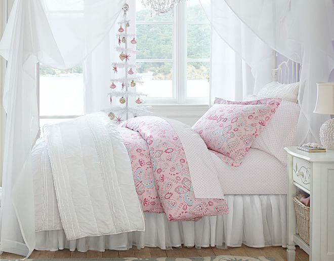 Kristin Butterfly Girl Room Room Iron Bed