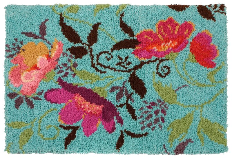 Maia Garden Latch Hook Rug Kit I Can Only Find This In The Uk