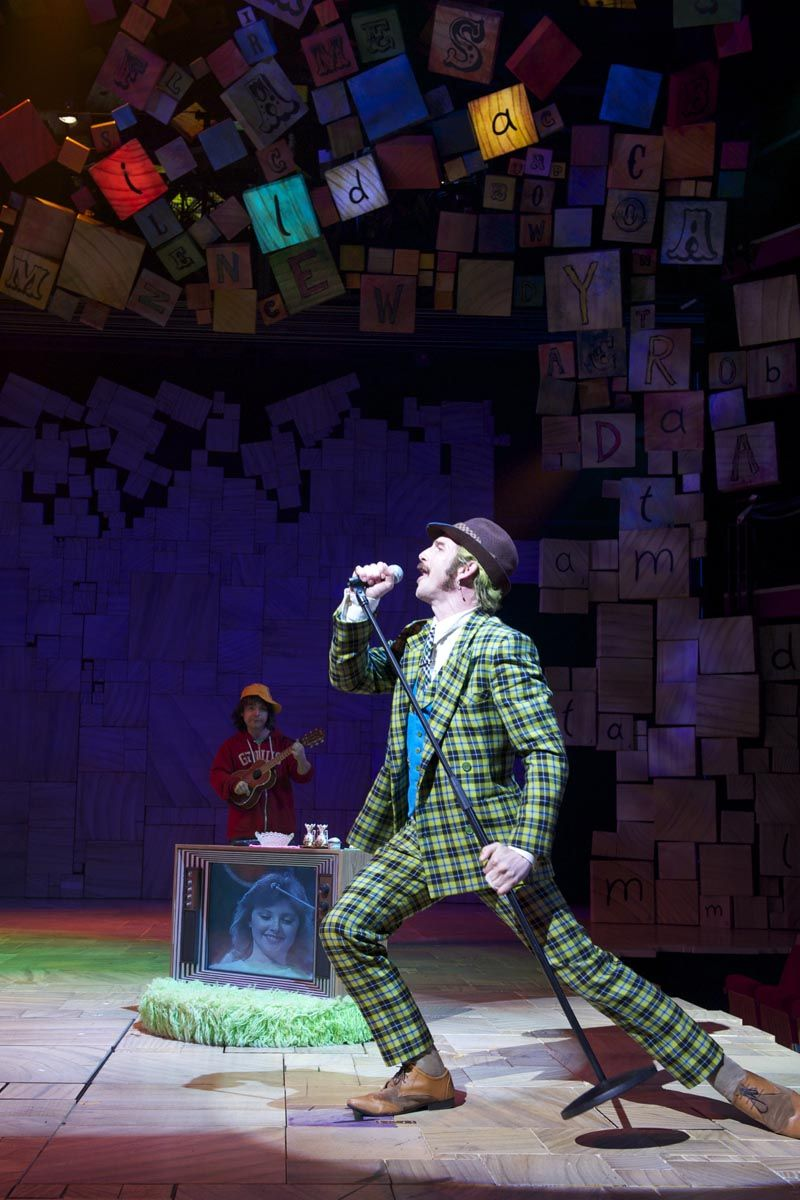 "Matilda the Musical - Mr. Wormwood and Michael Wormwood ::  ""You can't learn that from a stupid book!"""