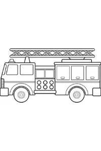 Camion Dei Pompieri Disegni Da Colorare E Stampare Per Bambini Gratis Pdf A4 Nel 2020 Camion Dei Pompieri Disegni Da Colorare Stampe Per Bambini