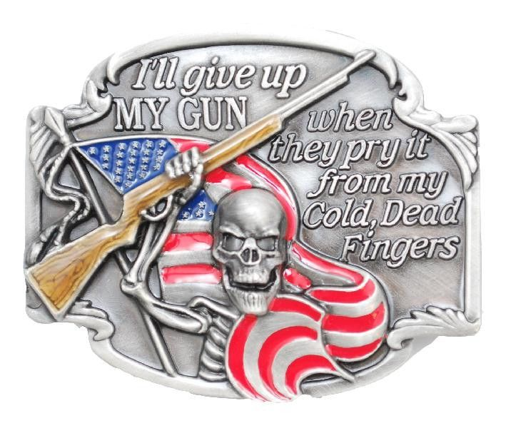 Hat Lapel Tie Tac Pin 2nd Amendment From My Cold Dead Fingers NEW
