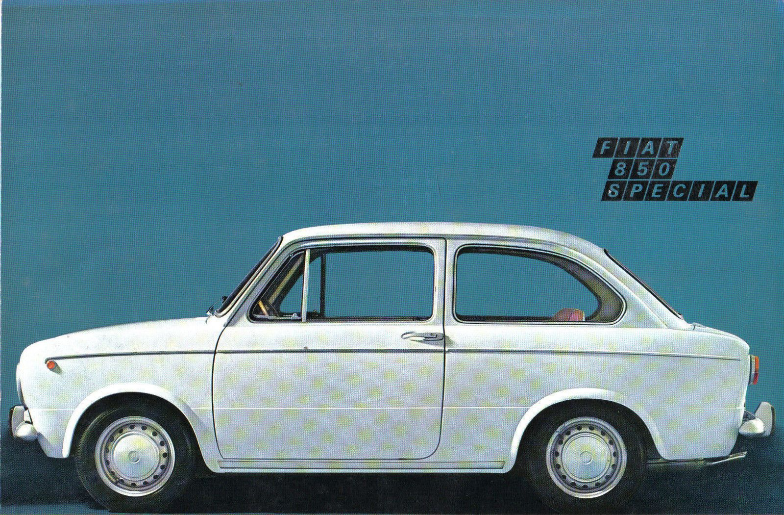 Details About Fiat 850 Special 1968 71 Original Uk Sales Brochure