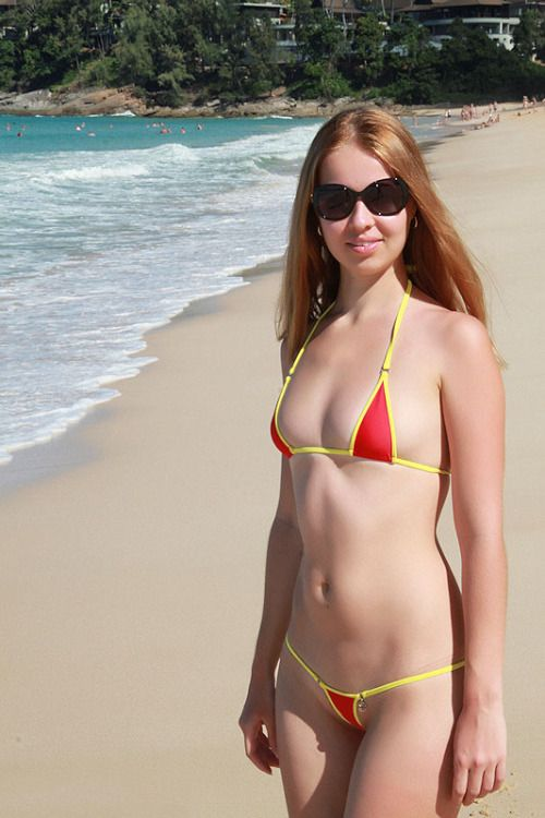 Sorry, this micro bikini skinny girl remarkable