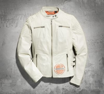 Spring Brook Leather Jacket. Nice lightweight leather. Perfect for Summer.