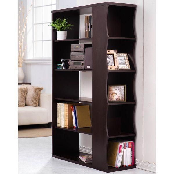Vertical Bookshelf Display Cabinet Bookcase Room Divider Side Storage  Shelves #Unbranded #VerticalBookshelf