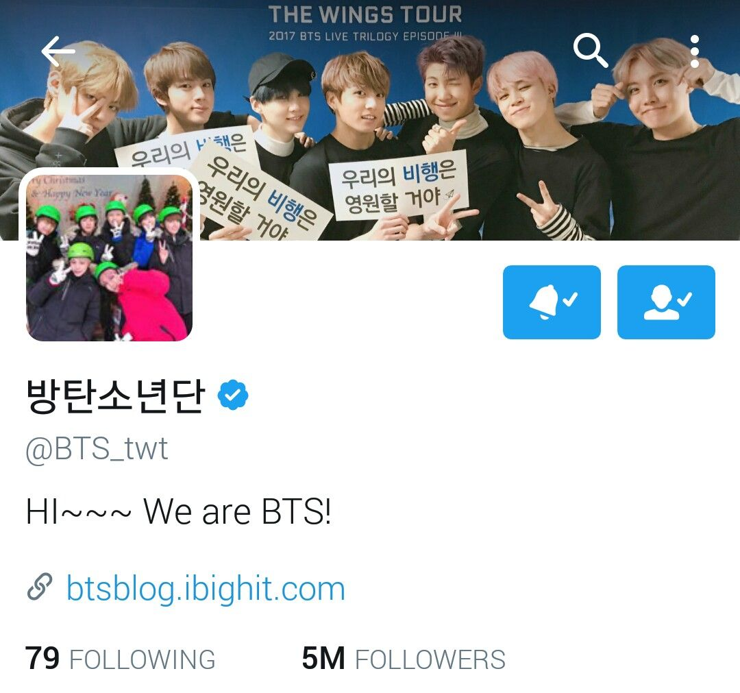Bts Have Reached 5m Followers On Twitter It S Like There Was Only 4m Yesterday Go Follow Bts Twt If You Haven T I Wil Bangtan Bangtan Sonyeondan Jungkook