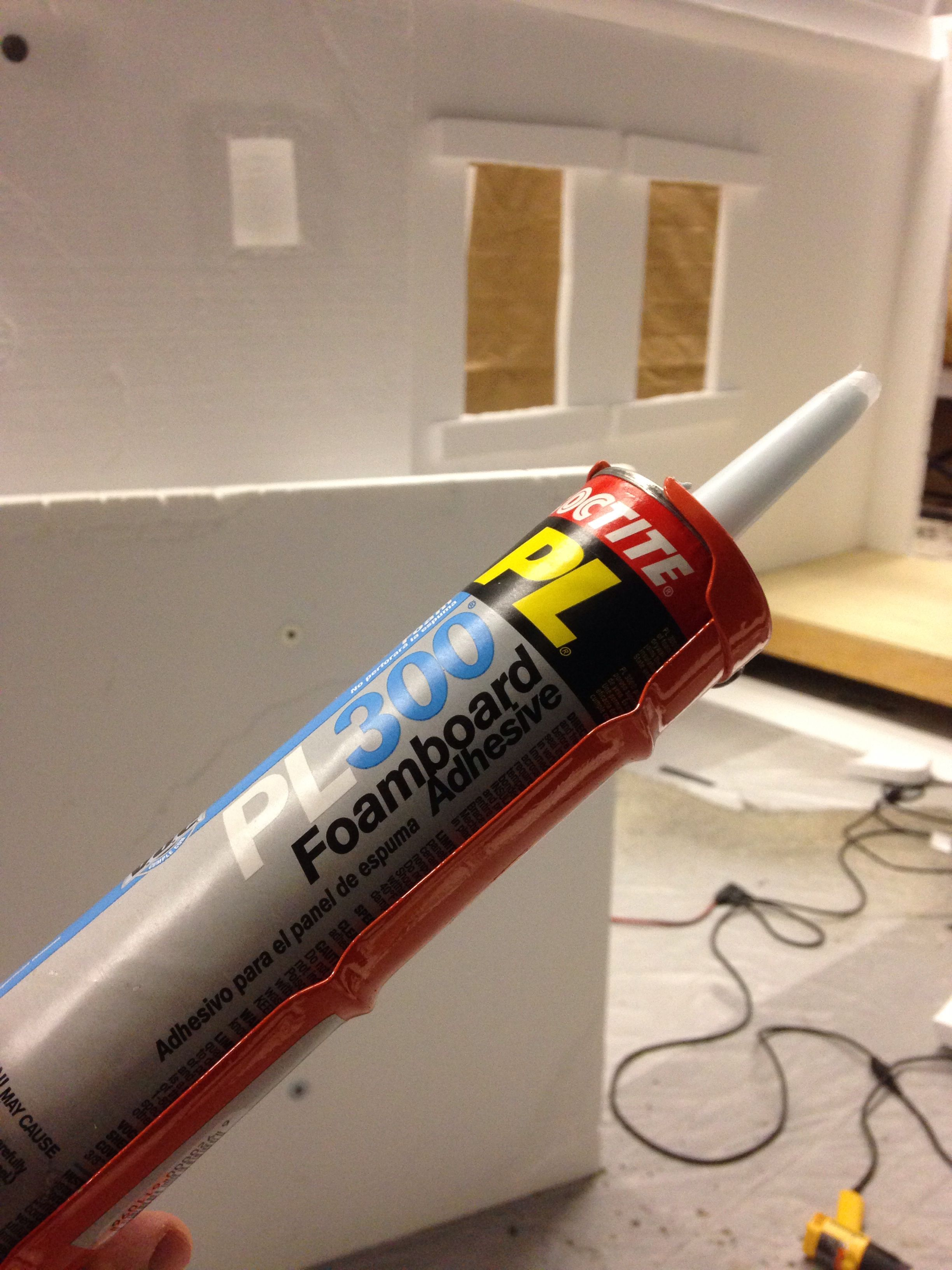 This stuff is indispensable when carving foam sets my for Best glue for craft foam