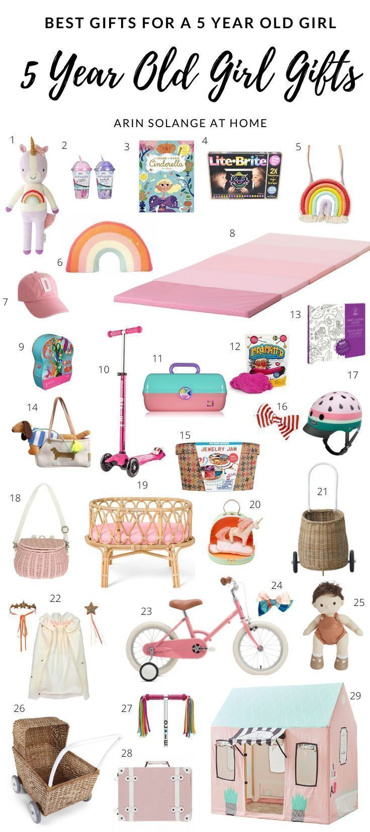 Best gifts for a 5 year old girl arinsolangeathome in