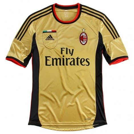 3a96feb8f AC Milan - The Gold Kit