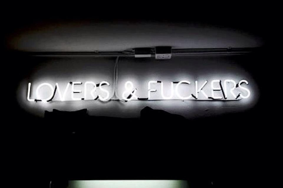 Lovers & fuckers | neon