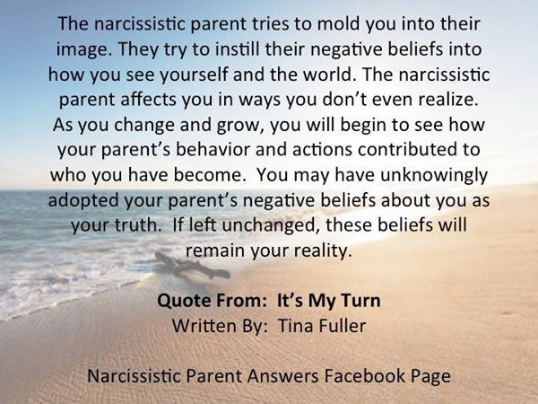 Narc parents try to instill their negative beliefs into you and they affect you in ways  you dont even realize.