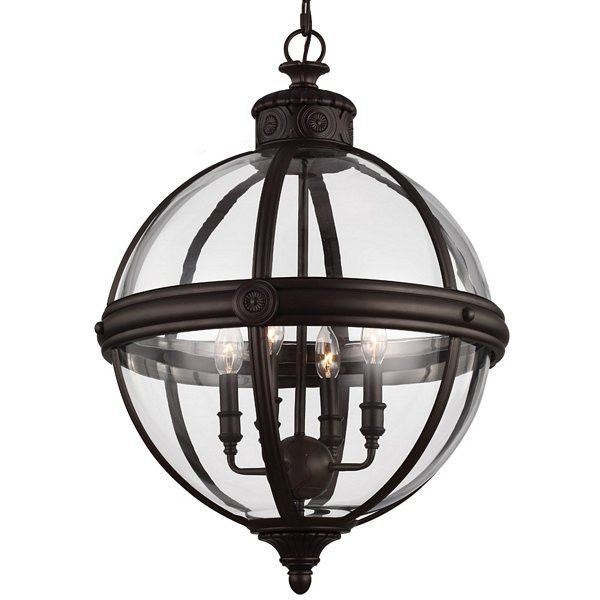 Feiss Adams 4L Chandelier - F29314ORB