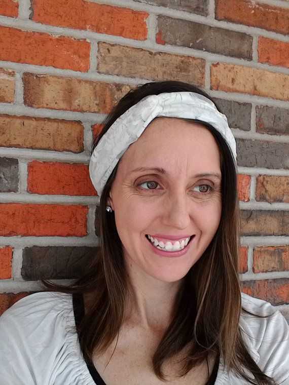 Turban Lace Head Band  by norahsnook1 on Etsy