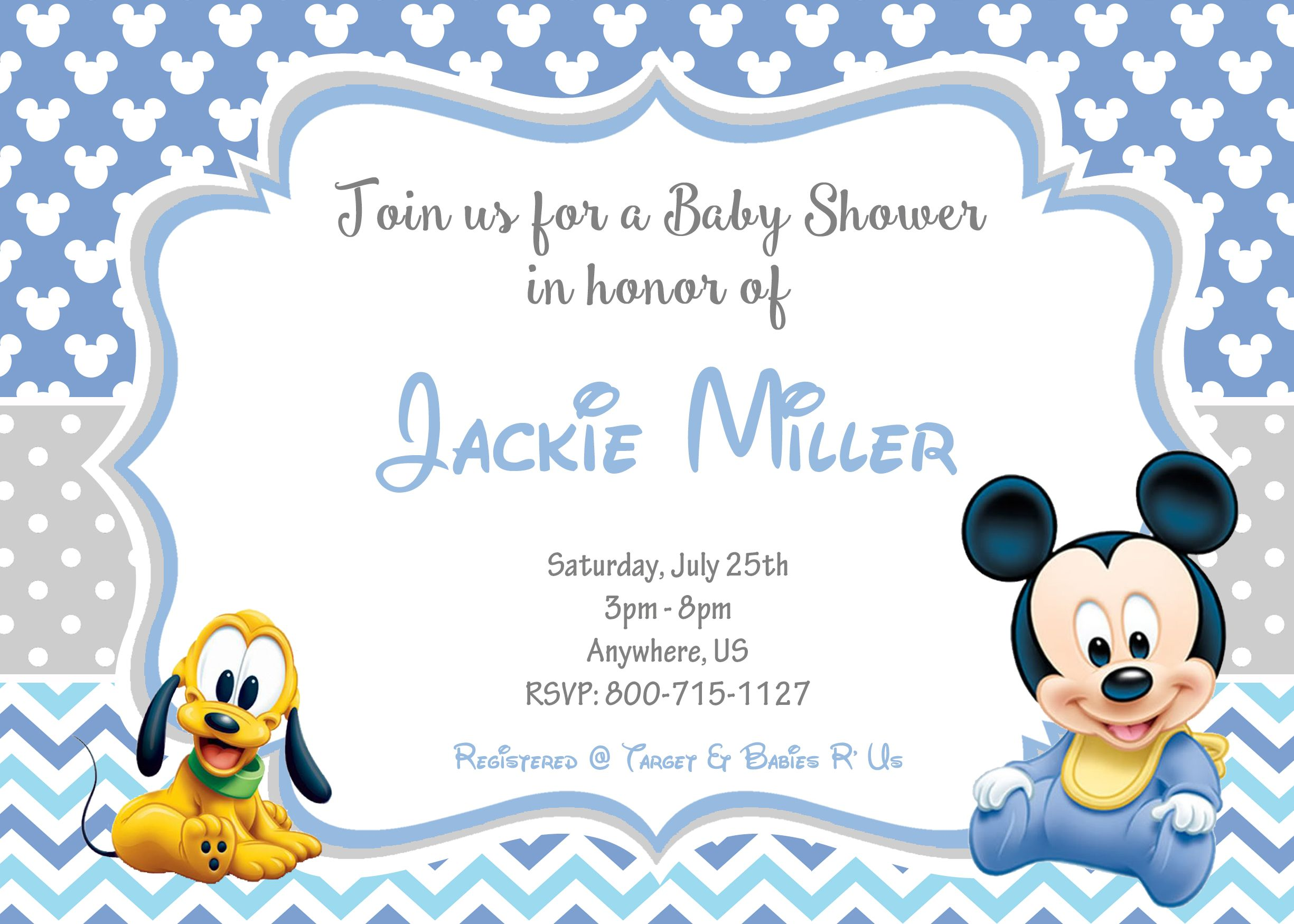 Pin by Party Express Invitations, Inc. on Baby Shower Invitation and ...