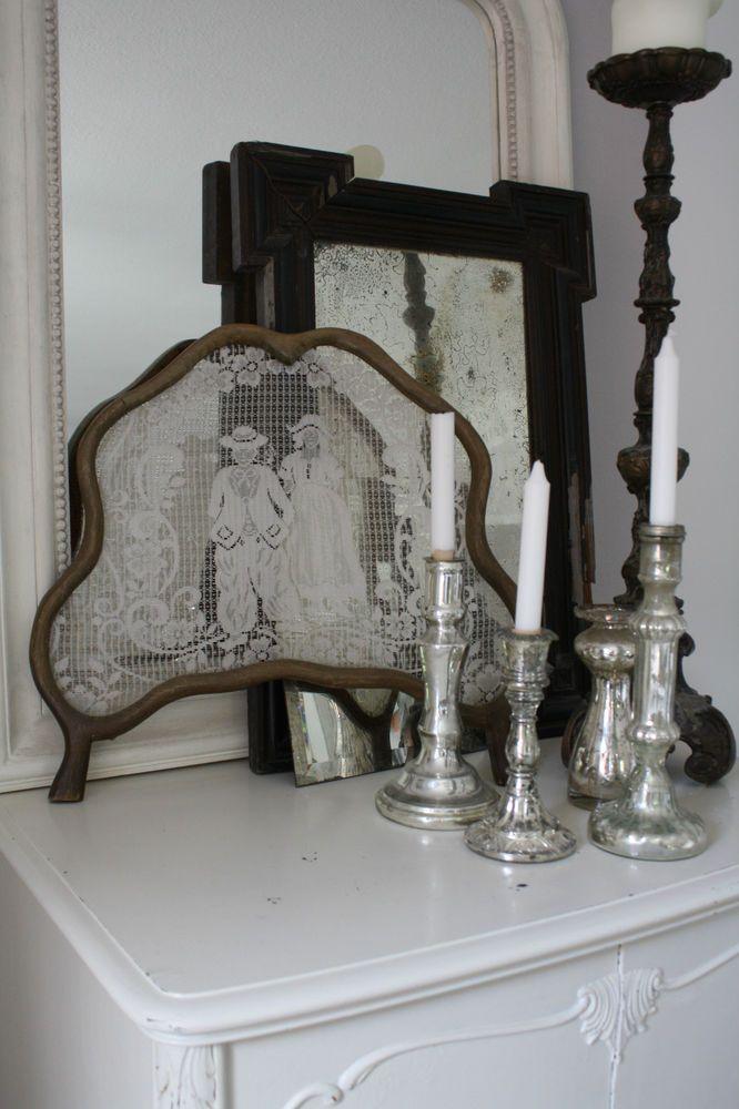 Raam hor  Sichtschutz Fenster Holland Vintage Shabby ...