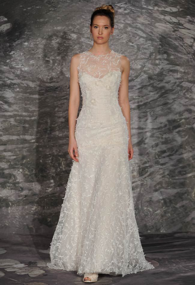 Older Bride Wedding Dresses We Spotted Loved From Spring 2017 Bridal Fashion Week