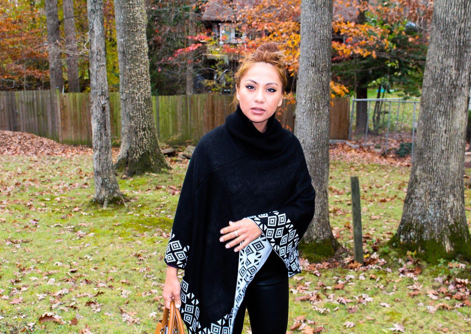 #poncho #style #chic  www.nuriaroses.blogspot.com   NuriaRose